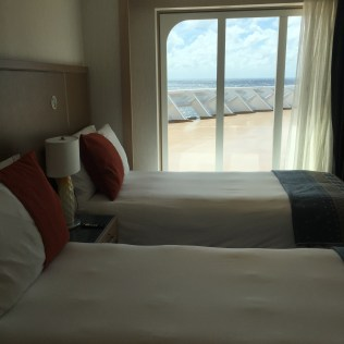 Viking cruises sky cruise ship owners suite bedroom