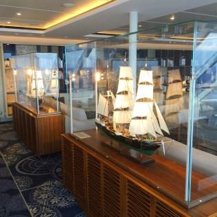 Viking cruises sky cruise ship explorers lounge model boats
