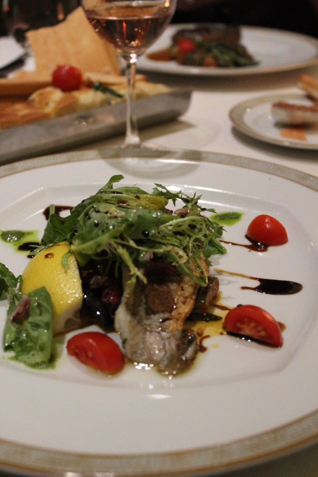 Silversea cruises silver muse cruise ship dinner