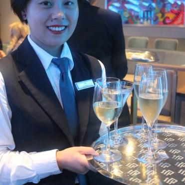 Silversea cruises silver muse cruise ship champagne