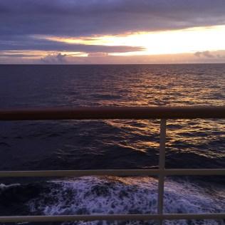 Silversea cruises silver muse cruise ship sunset