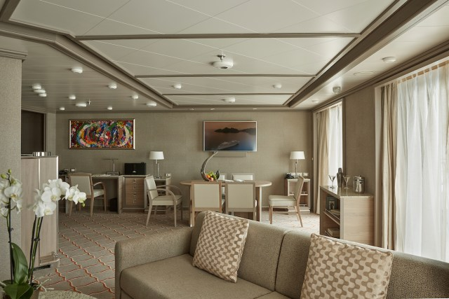 Silversea cruises silver muse cruise ship royal suite