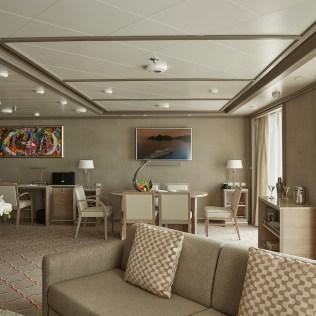 Silversea cruises silver muse cruise ship royal suite