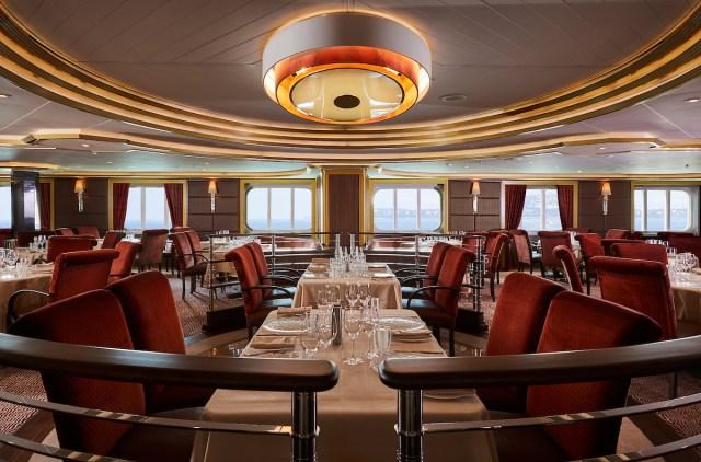 Silversea cruises silver muse cruise ship atlantide restaurant