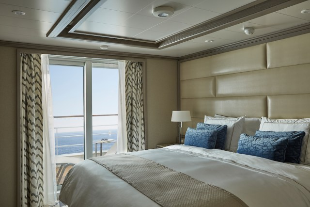 Silversea cruises silver muse cruise ship owners suite verandah
