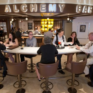Carnival cruises Horizon cruise ship alchemy bar