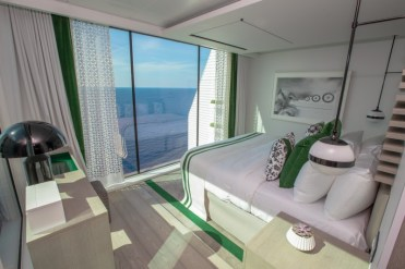 celebrity cruises edge cruise ship villa bedroom