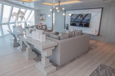 celebrity cruises edge cruise ship suite living room