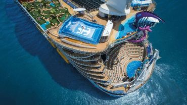 Symphony Of The Seas Top View