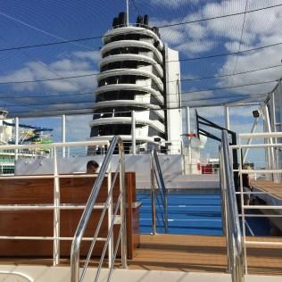 Holland America Statendam cruise ship funnel