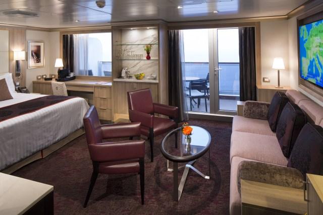 Holland America Statendam cruise ship Neptune suite
