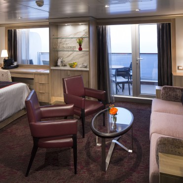 Holland America Statendam cruise ship Neptune suite