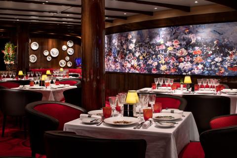Holland America Cruises Nieuw Statendam Sel De Mer restaurant
