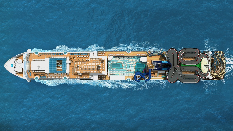 Norwegian Cruises Encore ship arriving in 2019