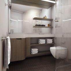 Norwegian Encore - Standard Bathroom