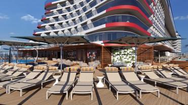 Carnival Cruises Mardi Gras outdoor aft deck