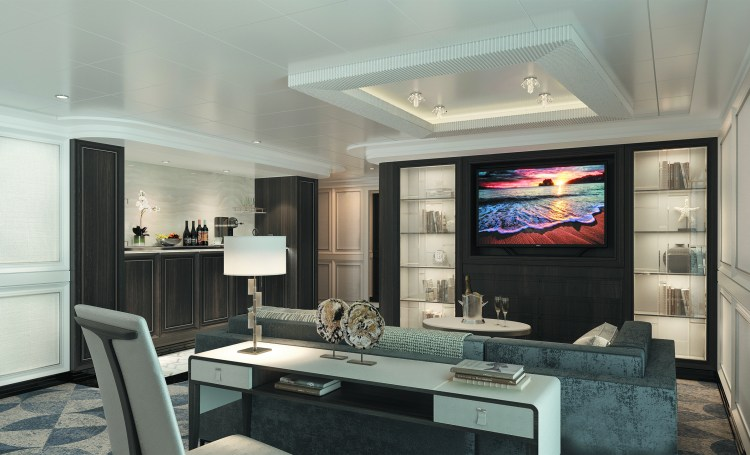SPL Master Suite Livingroom - View 1