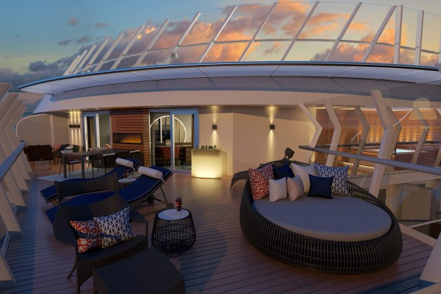 Carnival cruises Excel Presidential Suite Balcony 4