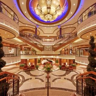 Cunard Queen Elizabeth Atrium