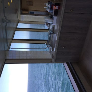 Cunard Queen Elizabeth spa view