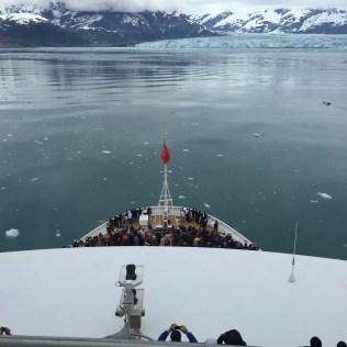 Cunard Queen Elizabeth Glacier Bay