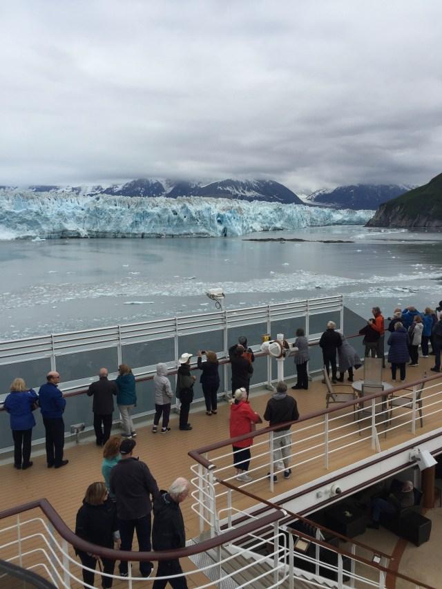 Cunard Queen Elizabeth Glacier