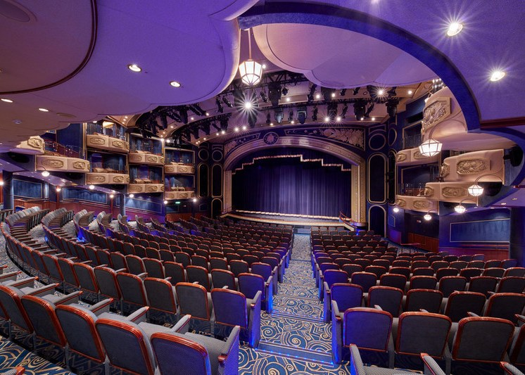 Cunard Queen Elizabeth Royal Court Theatre