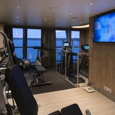 Celebrity Cruises Flora Fitness facility