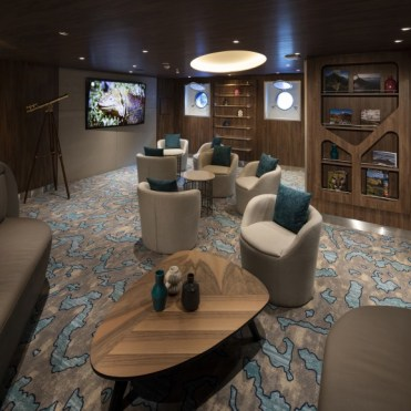 Celebrity Cruises Flora Naturalist Lounge