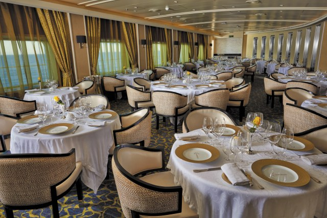 Regent Cruises Voyager Chartreuse speciality restaurant