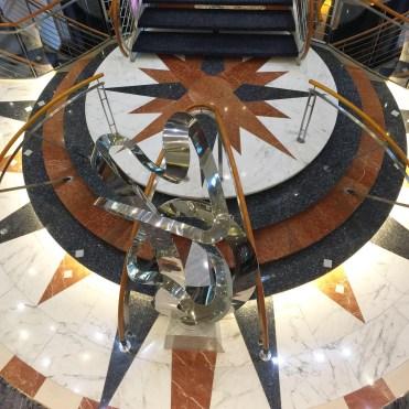 Regent Cruises Voyager Atrium