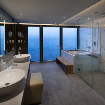 Celebrity Cruises Flora Penthouse Bathroom