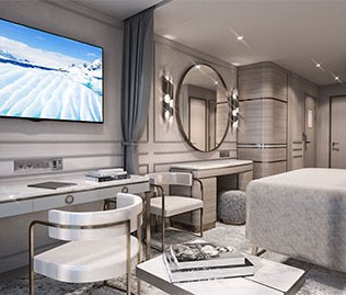 Crystal Cruises Endeavor Deluxe Suite A