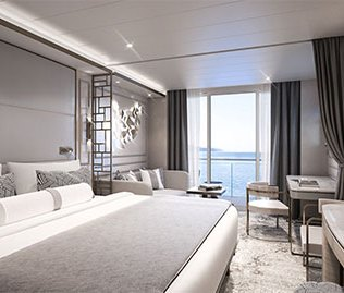 Crystal Cruises Endeavor deluxe suite