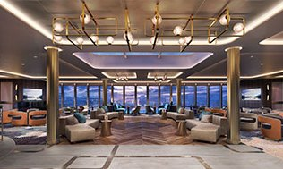 Crystal Cruises Endeavor Palm Court