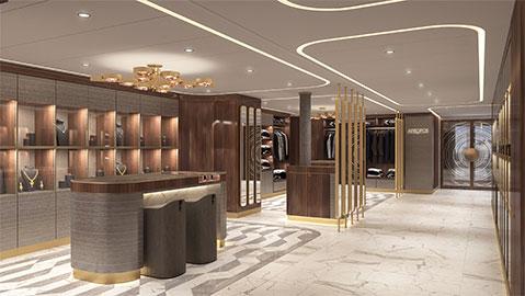 Crystal Cruises Endeavor Retail