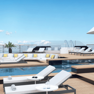 Ritz Carlton Yacht Aft Main Pool Deck