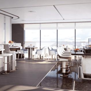Ritz Carlton Yacht Fusion Restaurant