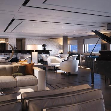 RitzCarltonYachtThe Living Room_Bar View
