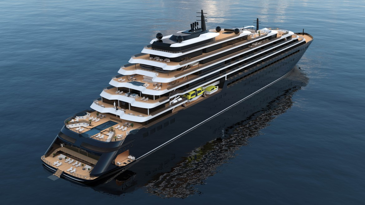 Ritz-Carlton cruise ship launching in June 2020