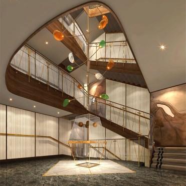 Seabourn Venture Atrium