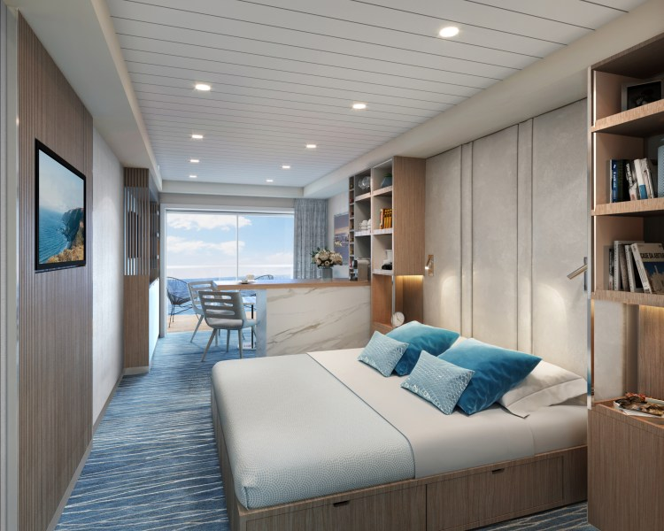 cruise ship you can live on Storylines Cabin RU2