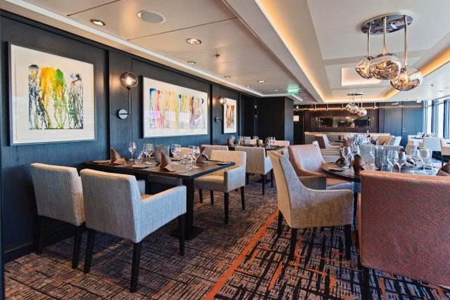 Hurtigruten cruises cruise ship Lindstrom resaurant