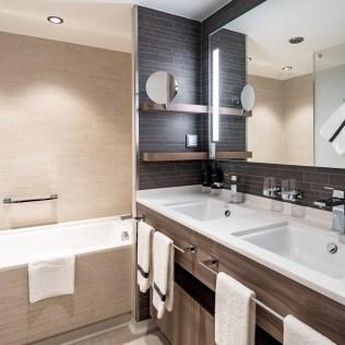 Hurtigruten cruises cruise ship suite bathroom