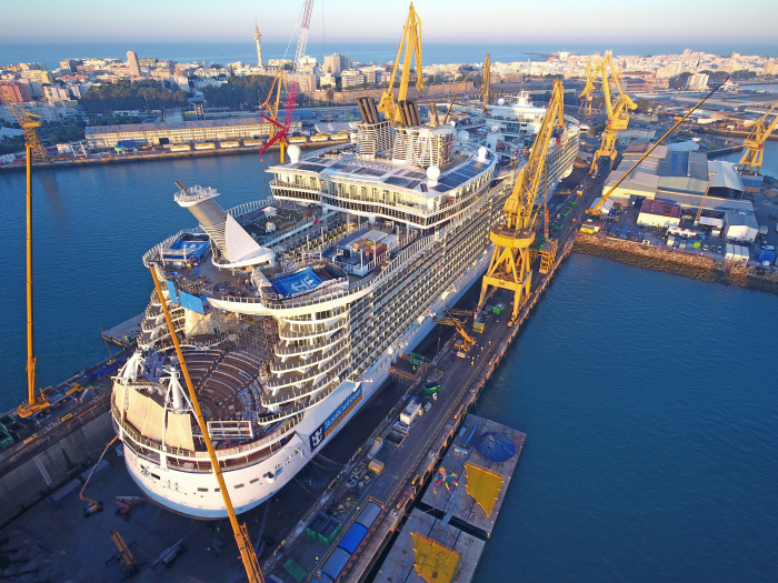 Royal Caribbean Oasis of the Seas cruise ship gets $165 million reno
