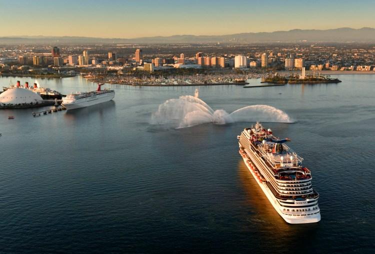 Carnival Cruises Panorama Long Beach California