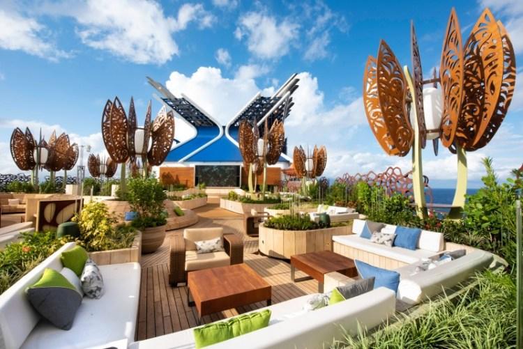 Celebrity Cruise Edge Garden