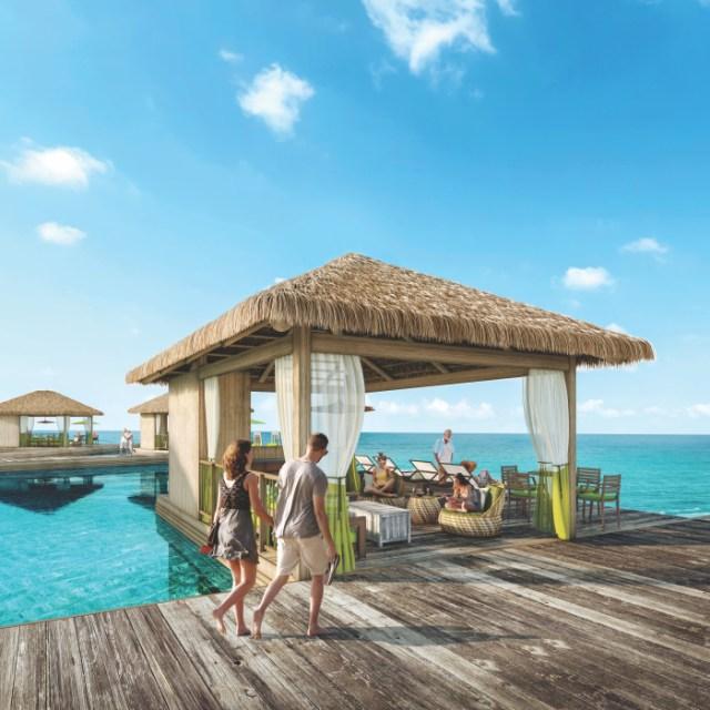 Royal Caribbean Perfect Day Coco Cay Water cabanas