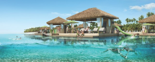 Royal Caribbean Perfect Day Coco Cay Waterfront Cabanas