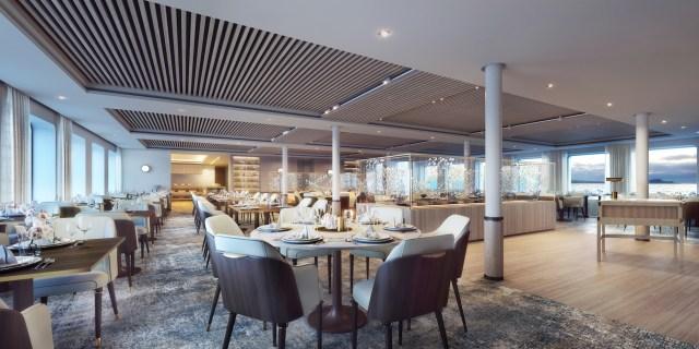 Silversea Origin restaurant